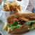 Oyster Po-Boy at Chewies